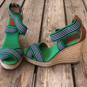 New condition Tory Burch wedges size 7
